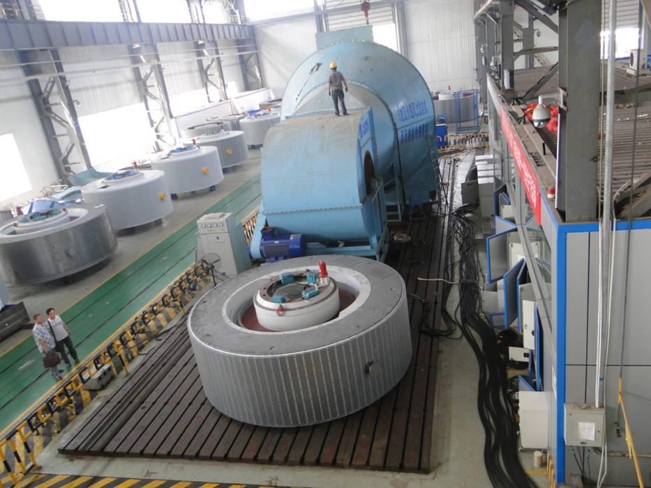 湘电风力发电机装机